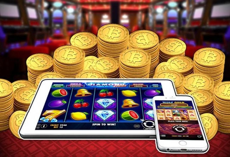 Slot games with bitcoins